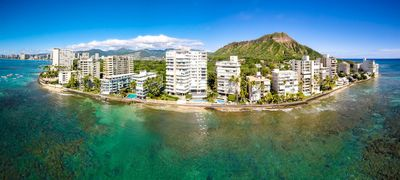Photo for Diamond Head Beach Hotel 1 bdrm + kitchen ocean front