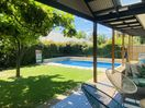 Picture yourself here - north facing sunny private yard.