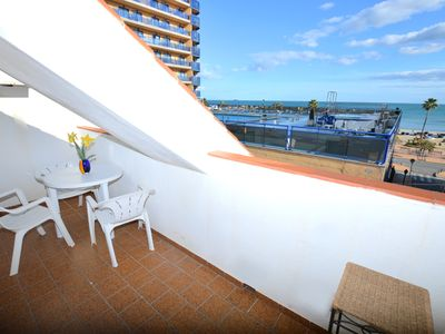 Photo for Apartment 50 metres from Los Boliches Beach in Fuengirola on the Costa del Sol!