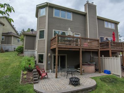 Photo for Spacious Duplex with 3 master suites less than 1/2 mile from Wisp Resort!