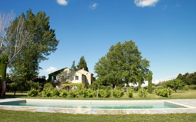 Photo for Charming Farmhouse Gîte, Ground floor  in Provence-Alpilles w/ Pool