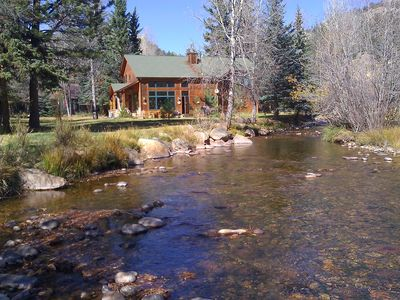 Photo for Cabin On Fall River, Walk To Town And Rmnp