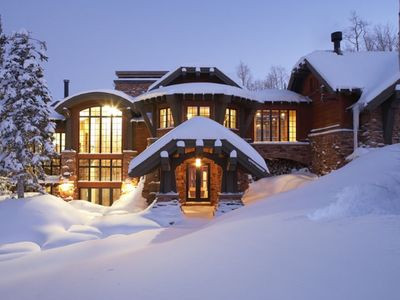 Photo for ONE OF THE MOST AMAZING MOUNTAIN HOMES IN THE WORLD Ski In/Ski Out,Climbing Wall