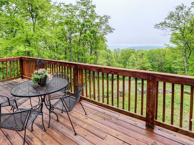 Photo for Secluded Hot Springs Cabin w/Patio & Forest Views