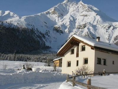 Photo for Apartment Agrotourismus Bauernhof Pitsch  in Tschierv, Engadine - 4 persons, 1 bedroom