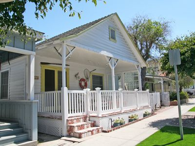 Photo for Charming Catalina Cottage, Large Porch, 2.5 Blocks to Beach