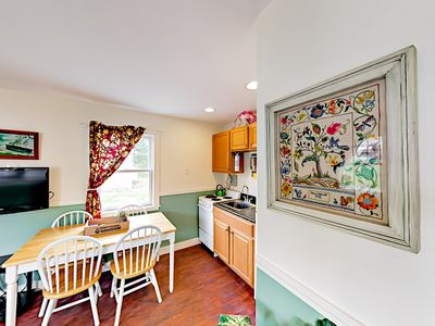 Dining Area - Enjoy home-cooked meals at the 4-person table.