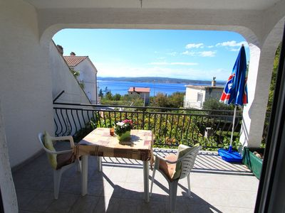 Photo for Holiday apartment with sea view and air conditioning