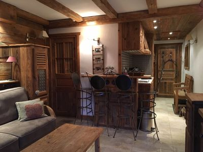 Photo for HIGH END STUDIO CABIN (4 pers) HEART OF MEGEVE
