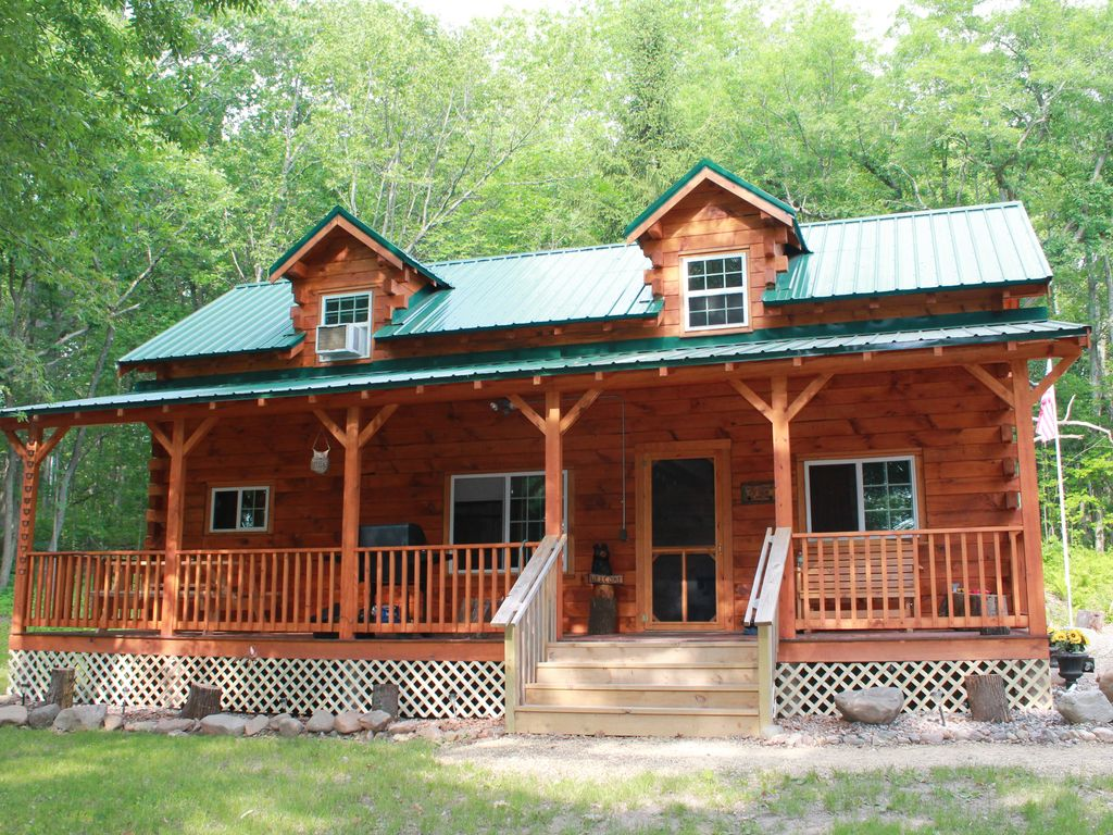Cozy Authentic Amish Cabin 5 Acres Of Privacy 4 Wheel