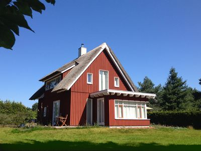 Photo for Holiday Flat in thatched wooden house - very quiet and idyllic