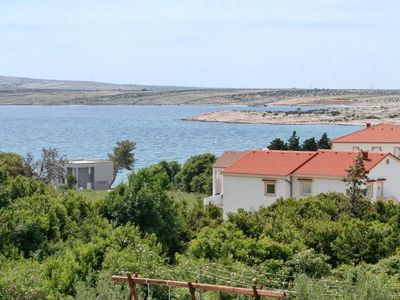 Photo for One bedroom apartment with terrace and sea view Caska, Pag (A-4109-c)