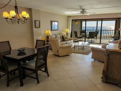 Photo for Getaway to Relaxing Beachfront Island Vacation 2B/2B Condo w/ Direct Gulf Views