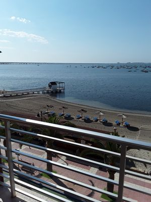 Photo for Casa SEAVIEW Lo Pagan on the beach, City Center, Marina and Mar Menor