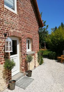 Photo for In an old barn completely restored to new House cottage in Beussent