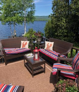 Enjoy a Maine lake PRIVATE Waterfront Rustic Luxury