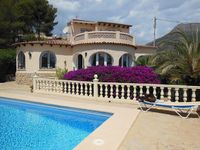 Wonderful villa with lovely views over Calpe rock