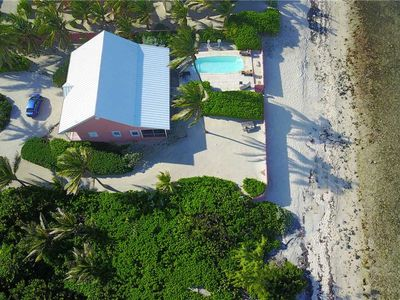 Photo for Cayman Dream: Rum Point Beach Bungalow with Pool for Oceanfront Living