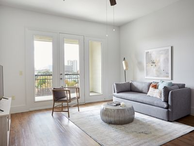 Photo for Sonder | The Hampstead | Bright 1BR + Balcony