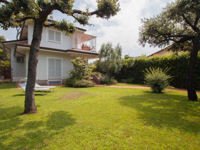Photo for ELEGANT VILLA NEAR THE SEA VILLA WITH LARGE GARDEN, AIR CONDITIONING WI-FI