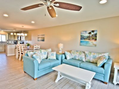 Photo for Steps to Sugar Sand Beach! WIFI - Community Pool - Relax 30A Style in this Luxurious Family Condo!
