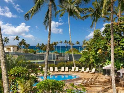 """Photo for Poipu Vacation Rental Time to relax Enjoy Paradise """"A/C Bedroom"""" *Kahala 122*"""