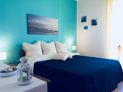 Photo for Capo d'Orlando new apartments with sea view 20 meters from the beach