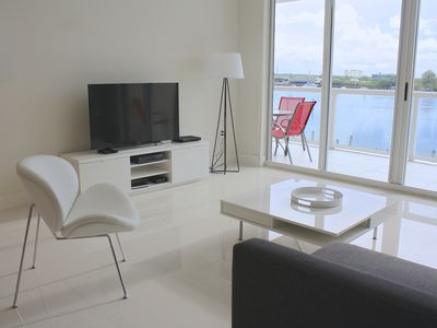 Photo for Spacious condo with striking views of the waterway | Parking, WIFI, Cellphone