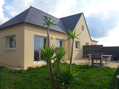Photo for House with panoramic views of the sea and the islands in Le Conquet