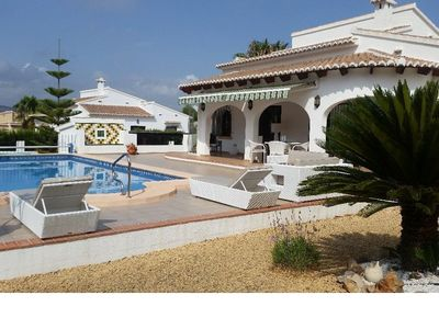 Photo for SUPERB VILLA FULL FOOT, 3 KM CENTER, 300 M FROM THE SEA AND CAP NEGRE, IN PEACE,