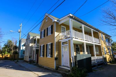 Murphy on Saint Philip is an example of a Charleston single home very common to our beautiful city.