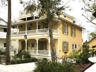 Photo for NEW! - Delightful Historic District Apartment. Private Parking. Walk Everywhere