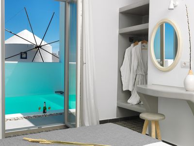 "Photo for ""Drops"" 2 Bedroom Villa with Private Swimming Pool #authenticsantorini"