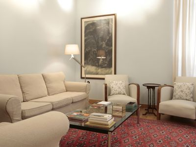 Photo for Lavish Neoclassical Home under Lykavittos Hill, Athens center