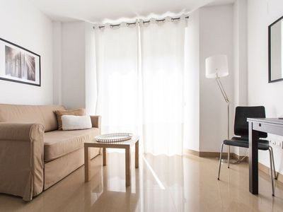 Photo for Petit Constitución V apartment in El Arenal with WiFi, integrated air conditioning (hot / cold), ba…