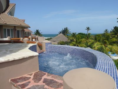 Photo for Penthouse apartment directly on the beach Oasis del Sol