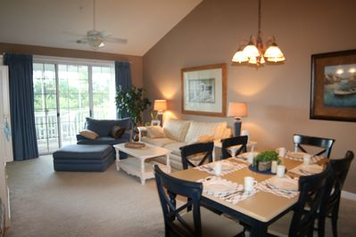 Welcome to dining area and great room!
