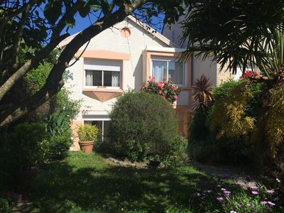 Photo for Very nice holiday home 50m from the beautiful beach of Val André