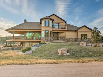 Photo for Expansive Black Hills Forest Home w/Deck & Grill!