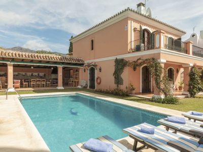 Photo for Vacation home La Paca  in Marbella, Costa del Sol - 9 persons, 5 bedrooms