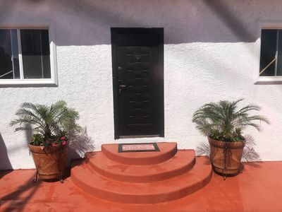 Photo for 5 minutes walking distance to the beach!
