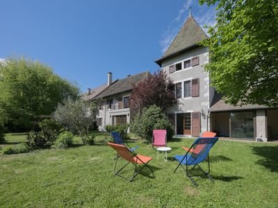 Photo for Lake Annecy - Saint-Jorioz : Charming historic house totally renovated by the lake for 12 people.