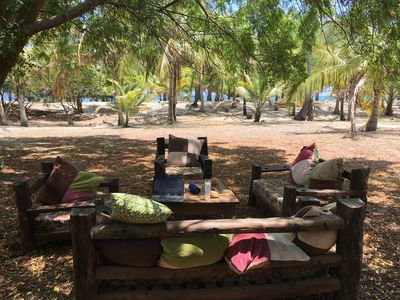 Photo for Beautiful beach villa on 7 acre private beach front