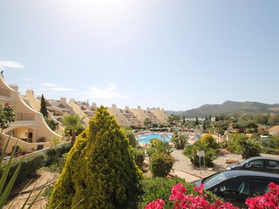 Photo for Luxury 3 Bed Ground Floor Apartment with large terrace in central La Manga Club