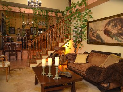 "Photo for Upscale 2BR house ""Casa Tranquila"" 5min to the beach"