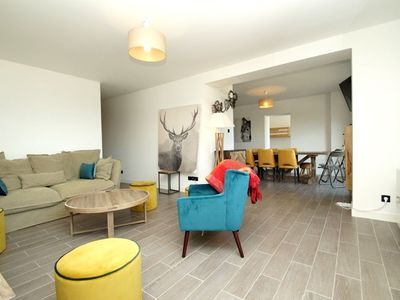 Photo for Apartment 4 bedrooms + 1 sleeping area, 11 people, 117 m²