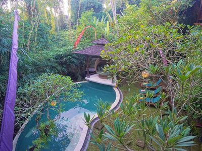 Photo for 3BR Luxury Villa w/ Pool & View in Ubud Center