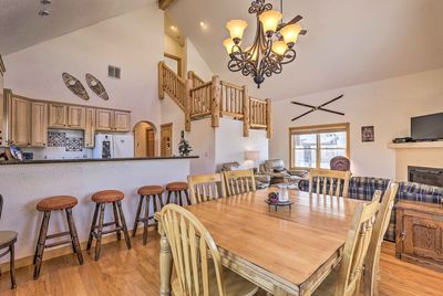 This spacious vacation rental is the perfect destination for a Granby getaway.