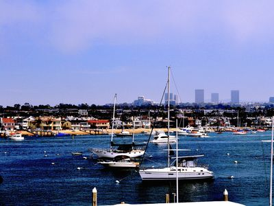 Photo for Balboa Bay View -- Steps to Beach, Pier, Restaurants, Park and Fun Zone