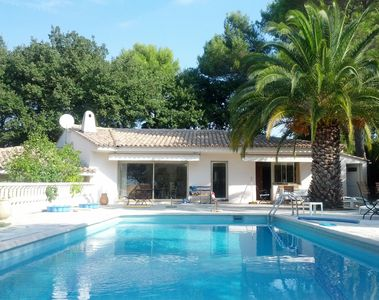 Photo for Villa with pool for the whole family, Cote d'Azur